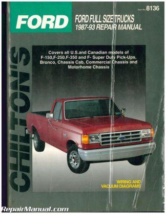 chilton ford crown victoria 1989 10 repair manual
