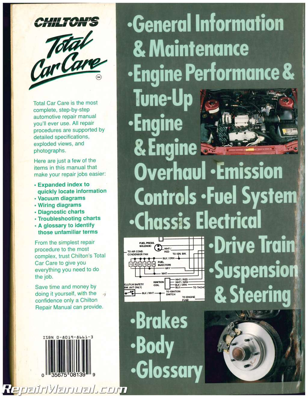 Used Chilton General Motors Blazer Jimmy Typhoon Bravada 1983-1995 ...