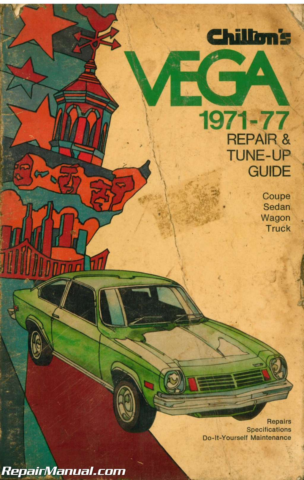 ... Array - used chilton vega repair and tune up guide manual 1971 1977 rh  repairmanual com