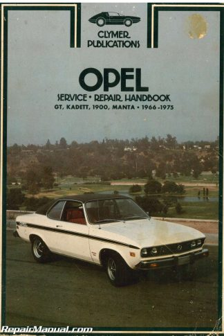 Opel kadett and gt service manual 1969 used clymer 1966 1975 opel gt kadett 1900 manta service manual publicscrutiny Choice Image