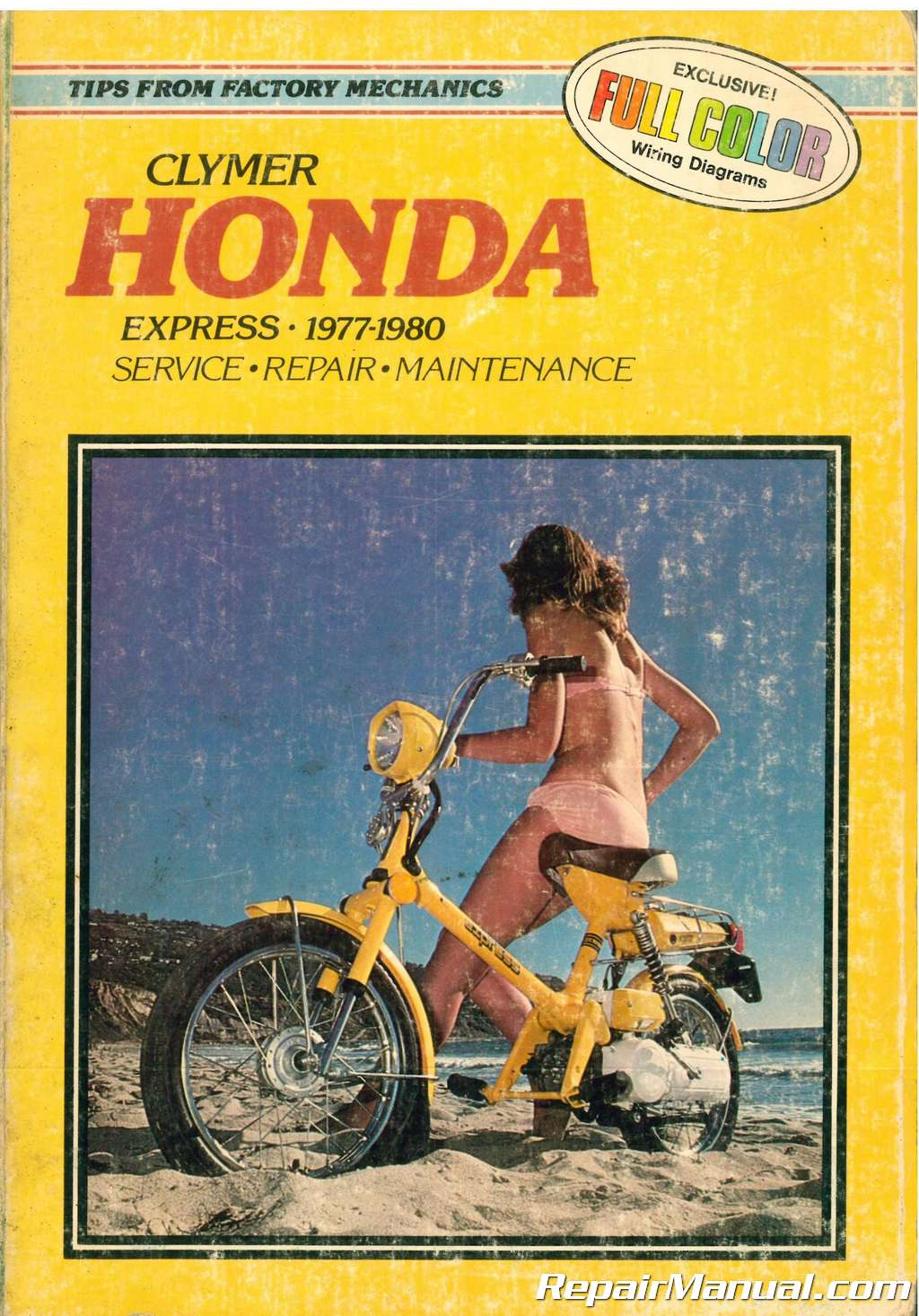 Used Clymer 1977 1980 Honda Express Service Repair Maintenance Motorcycle 19781979 Complete Wiring Diagram All About Chapter Four Engine Five Clutch Starter And Power Transmission Six Fuel Oil Exhaust Systems Seven Electrical System