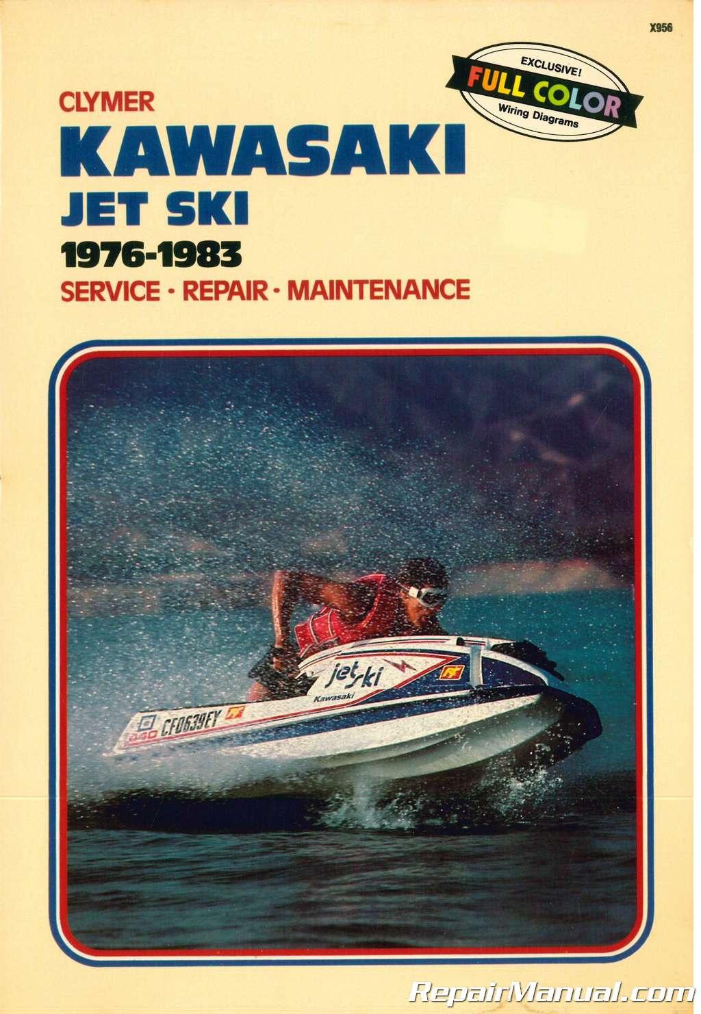 jet ski manuals
