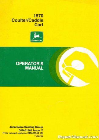 John Deere Tractor Manual 2040 2510 2520 2240 2440 2630 2640