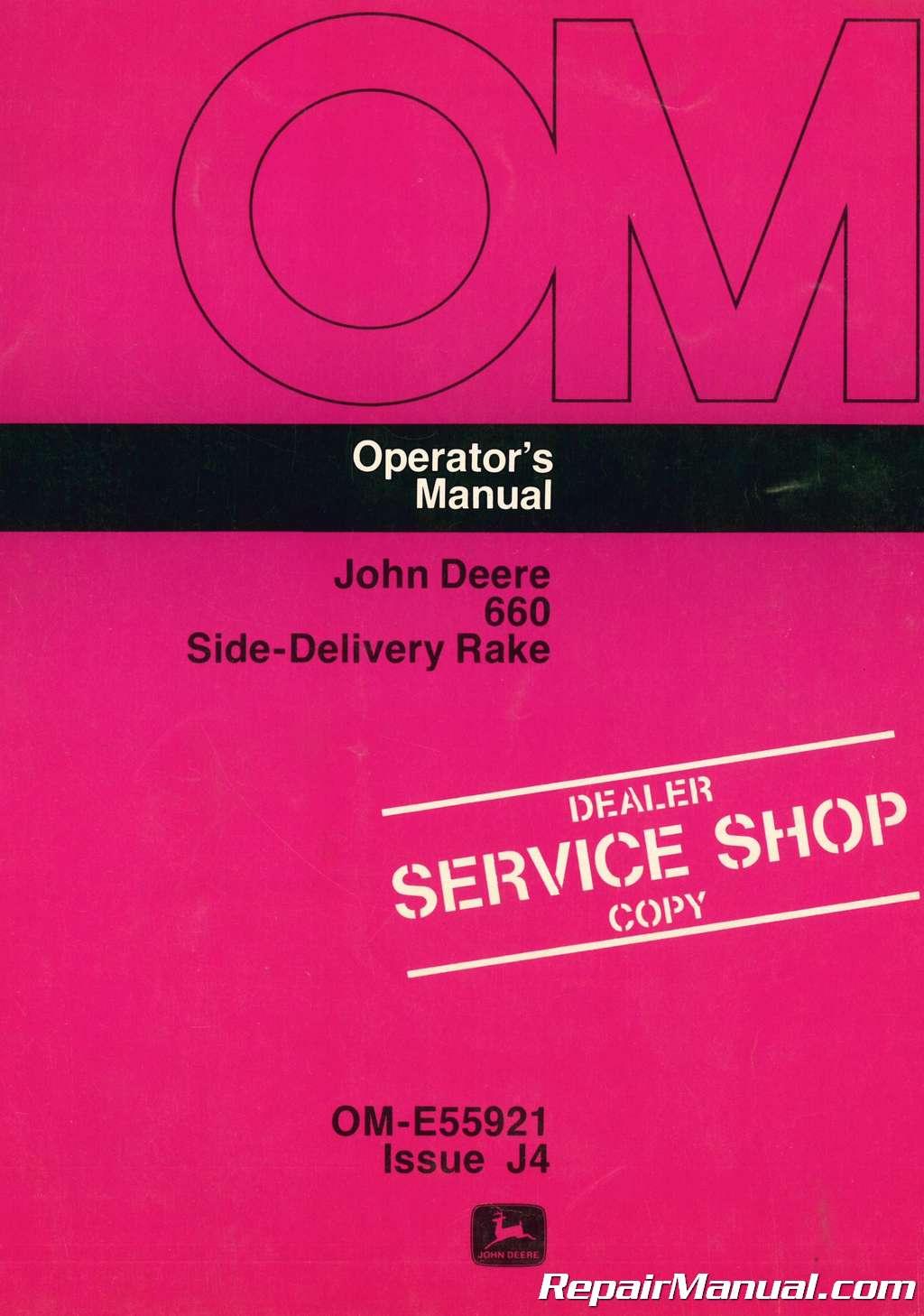 John Deere 518R Operator Manual