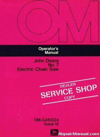 Chain Saw Repair Service Manual thru 1998 – 10th Edition