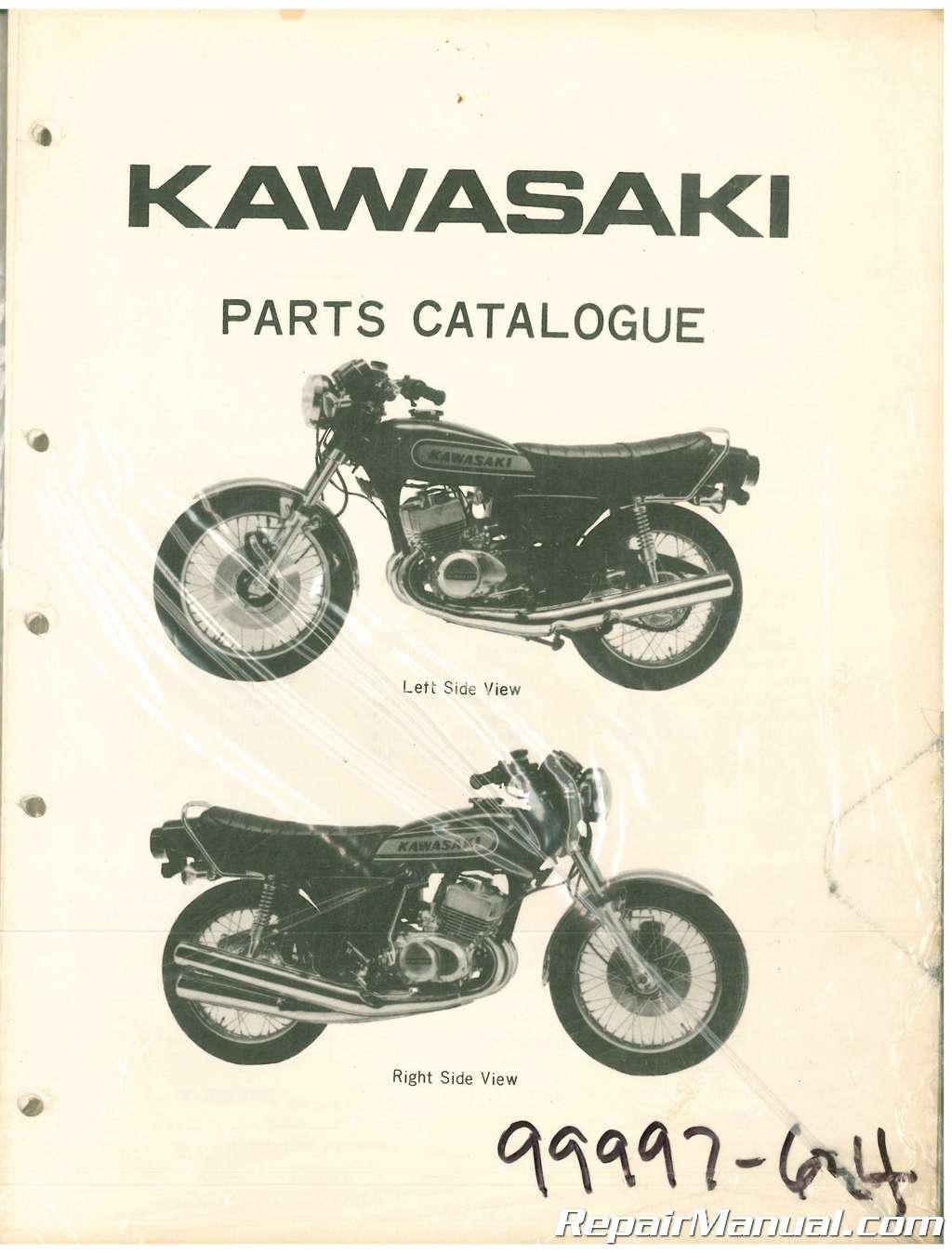 Used Kawasaki 400 S3 Motorcycle Parts Manual