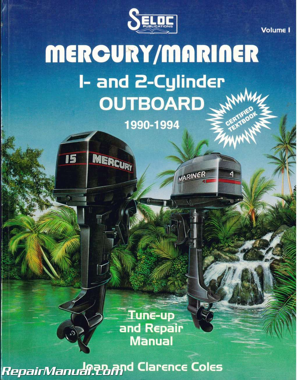 Seloc manuals seloc service and repair manuals autos post for Most reliable outboard motor 2016