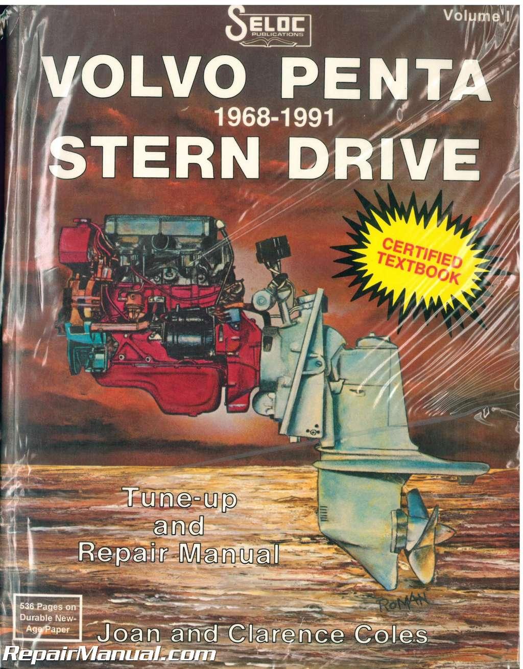 used seloc volvo penta stern drive 1968 1991 boat engine repair manual rh repairmanual com volvo penta stern drive manual free download volvo penta stern drive manual free download