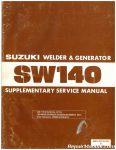 Used Suzuki SW140S SE Welder and Generator Supplementary Service Manual_001
