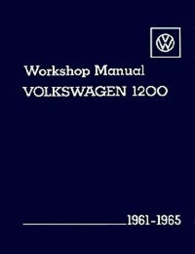 Volkswagen 1200 Workshop Manual 1961-1965