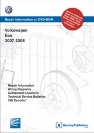 Volkswagen Eos 2007-2009 Repair Manual on DVD-ROM