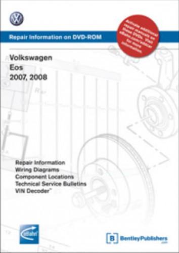 Volkswagen Eos 2007 2009 Repair Manual On DVD ROM