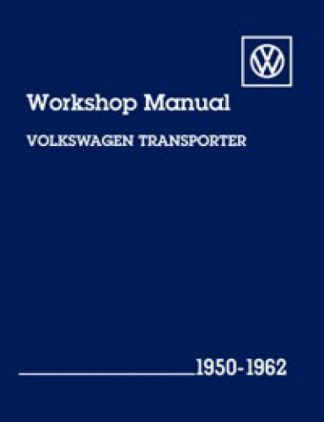 Volkswagen Transporter Workshop Manual 1950-1962