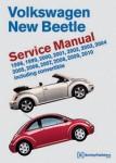 Volkswagen New Beetle Service Manual 1998-2010 Including Convertible