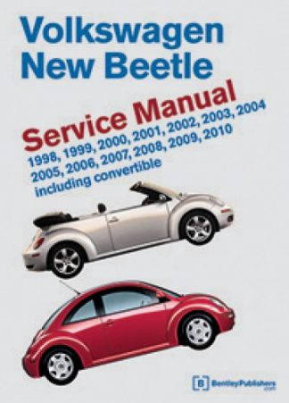 Volkswagen New Beetle Service Manual 1998-2010 Including Convertible