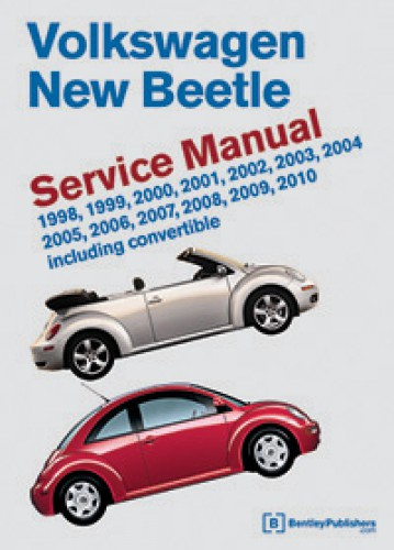 volkswagen  beetle printed service manual