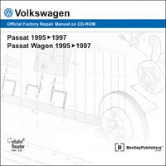 Volkswagen Passat Passat Wagon 1995-1997 Official Factory Repair Manual On DVD-ROM