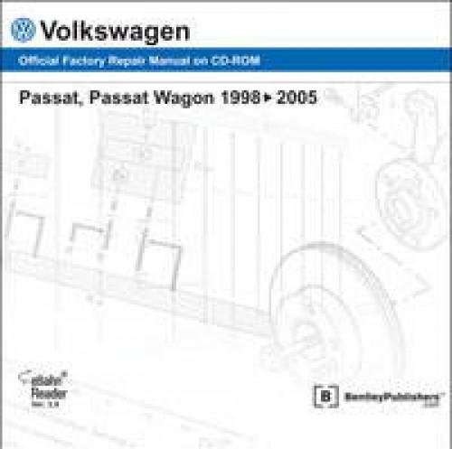 Volkswagen Passat Wagon 1998 1999 2000 2001 2002 2003 2004 2005 Repair Manual DVD