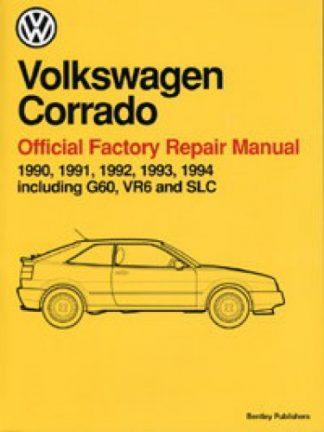 Volkswagen Corrado Official Factory Repair Manual 1990-1994