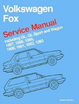 Volkswagen Fox Service Manual 1987-1993