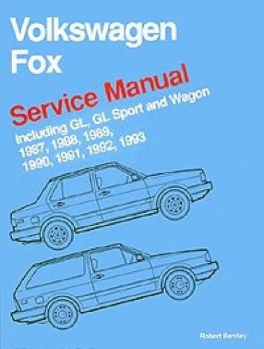 Volkswagen Fox Service Manual 1987