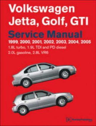 Volkswagen Jetta Golf GTI Service Manual 1999-2005