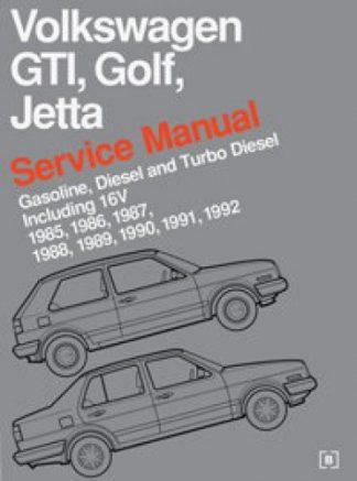 Volkswagen GTI Golf and Jetta Service Manual 1985-1992
