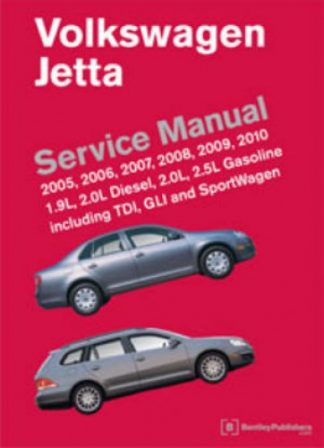 2005-2010 Volkswagen Jetta A5 Printed Service Manual