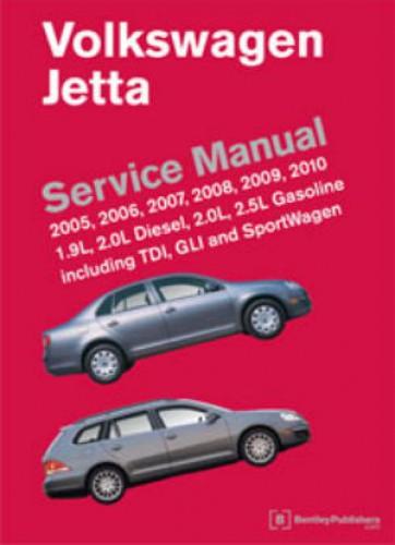volkswagen jetta  printed service manual