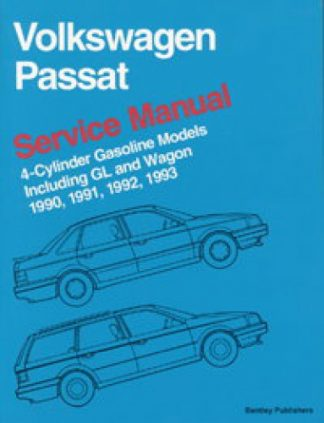 Volkswagen Passat Service Manual 1990-1993 including GL and Wagon