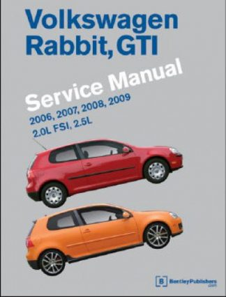 Volkswagen Rabbit GTI A5 Service Manual 2006-2009