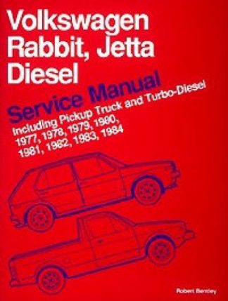 Volkswagen Rabbit Jetta Diesel Service Manual 1977-1984