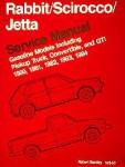 Volkswagen Rabbit Scirocco Jetta Service Manual 1980-1984