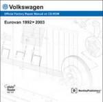 Volkswagen Eurovan 1992-2003 Official Factory Repair Manual on CD-ROM