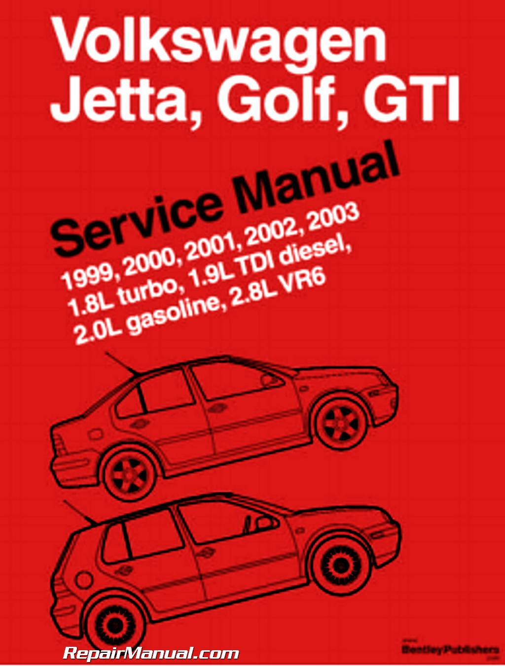 Volkswagen Jetta Golf GTI manual