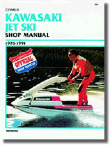 kawasaki jet ski   clymer personal watercraft service repair manual