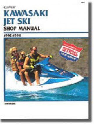 Clymer Kawasaki Jet Ski 1992-1994 Shop Manual