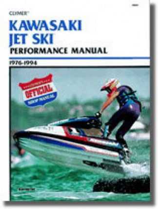 Clymer 1976-1994 Kawasaki Jet Ski Performance Service Manual