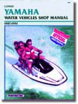 1987-1992 Yamaha Waverunner Wavejammer Personal Watercraft Repair Manual Clymer