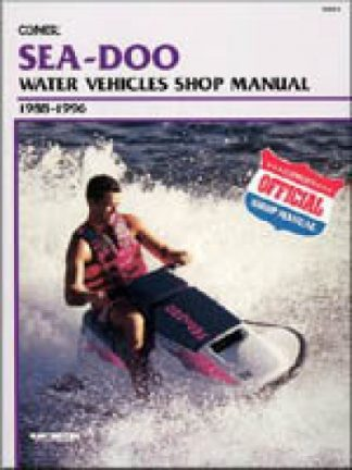 Clymer Sea-Doo Water Vehicles 1988-1996 Shop Manual