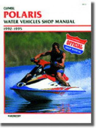 Used Clymer Polaris Water Vehicles 1992-1995 Shop Manual