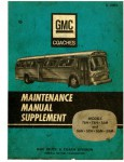 GMC Coach Bus Supplemental Maintenance Manual