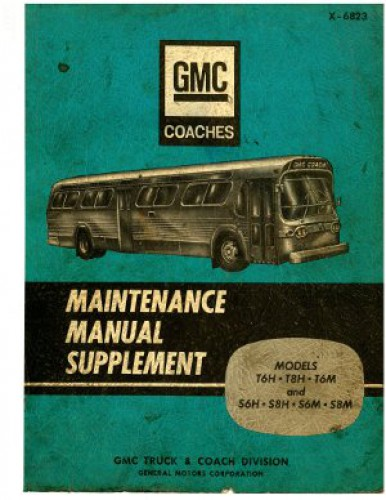 GMC Coach Bus Supplemental Maintenance Manual