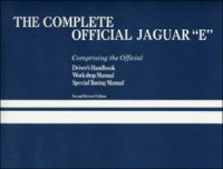 The Complete Official Jaguar E all 6 Cylinder Series 1 and Series 2 42 E-type 2+2 1961-1971