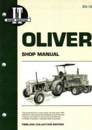 Oliver Super 44 440 Tractor Repair Manual