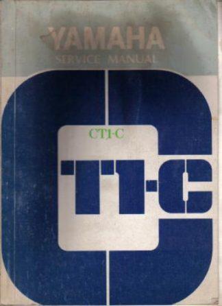 Official 1971 Yamaha CT1-C 175cc Service Manual