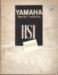 Official 1970 Yamaha HS1 90cc Service Manual