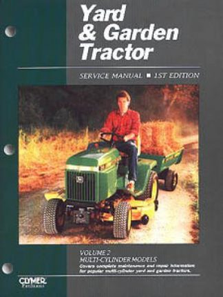 Yard Garden Tractor Service Manual Multi-Cylinder Volume 2