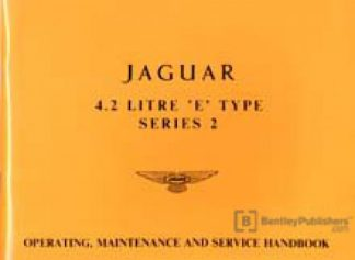 Jaguar E-Type Series 2 42 including 2+2 Driver