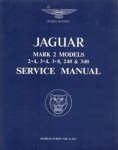 The Jaguar MK 2 24 34 and 38 Litre Workshop Manual 1960-1968